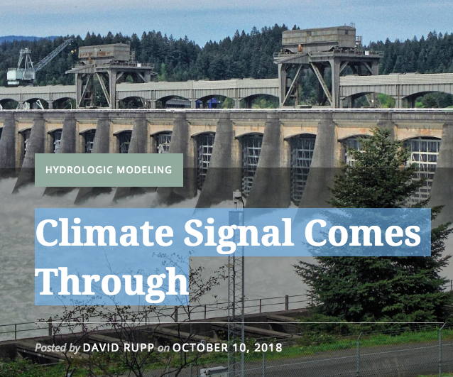 Climate Signal Comes Through