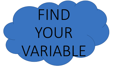 Find Your Variable